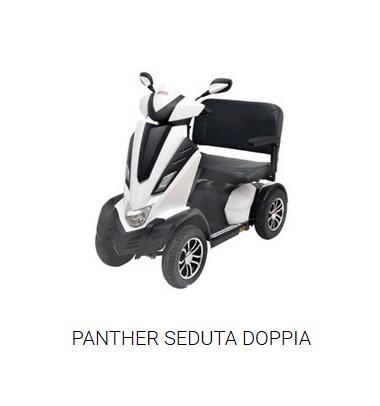 Scooter Panther seduta doppia