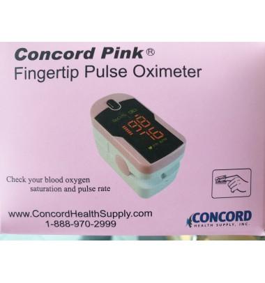 Pulsossimetro Concord Pink