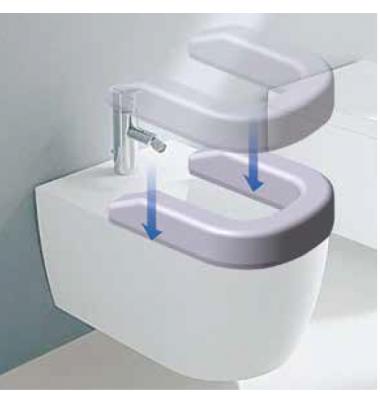 Rialzo per Bidet/Wc Comfort seat