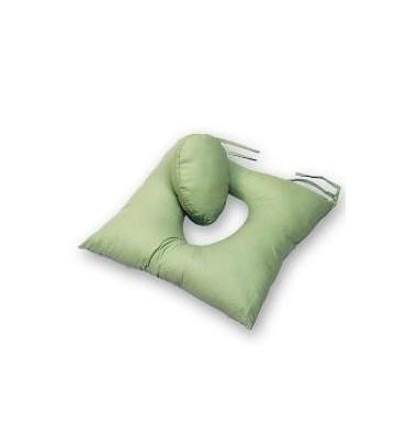 Cuscino In Fibra Cava Siliconata Con Foro