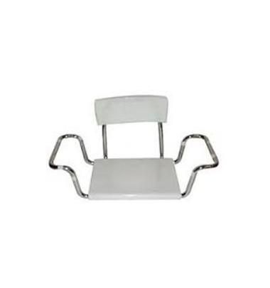 Sedile In Moplen Con Schienale Per Vasca