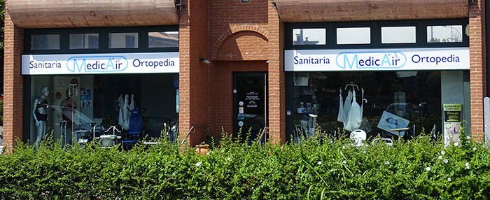 Negozio di Ortopedia a Lainate, Vicino a Milano e Rho - Sanitair srl